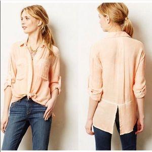 Anthropologie | Cloth & Stone Button Down Shirt